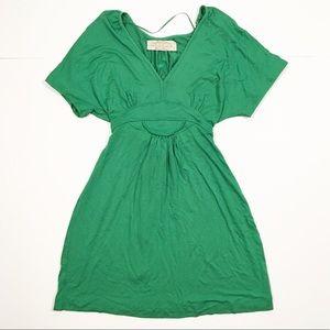 Zara Collection emerald green mini dress small